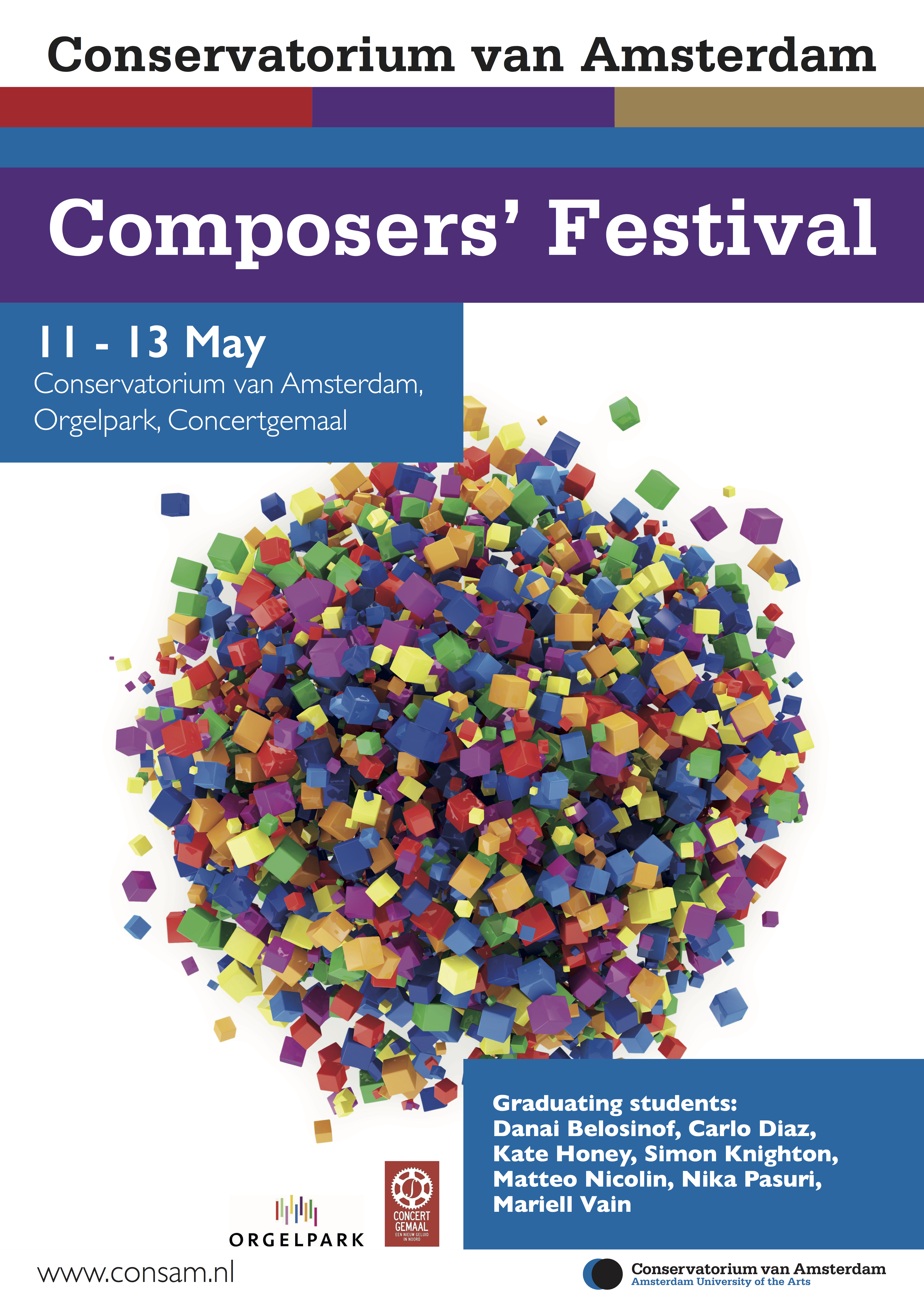 20170507-A2 Composers Festival_poster | Thanasis Deligiannis